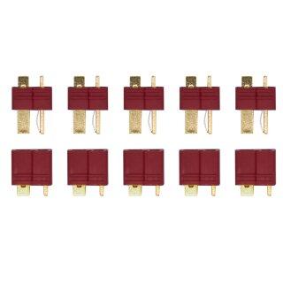 5 Paar Deans Stecker/Buchse T-Verbinder