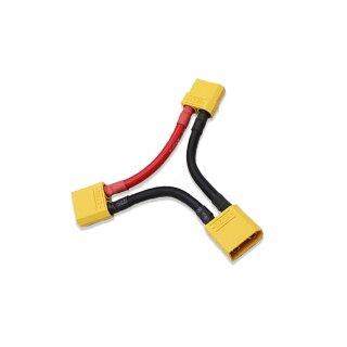 XT60 Serien Stecker 1 x Buche 2 x Stecker Adapterkabel