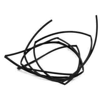 1 m Stück Schrumpfschlauch Ø 1 mm schwarz