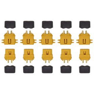 5 Paar XT60 L Stecker/Buchse (male/female) 3,5 mm
