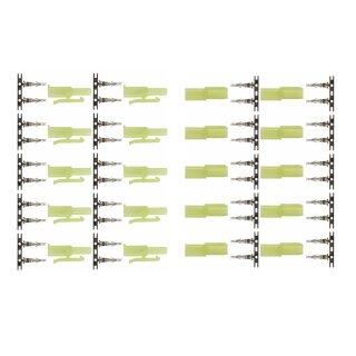 10 Paar (20 Stück) Marfitec T95 Steckverbinder kompatibel mit Mini Tamiya