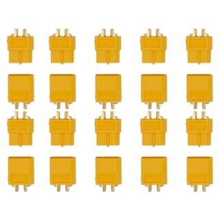 10 Paar XT60 (20 Stück) Stecker/Buchse (male/female) 3,5 mm