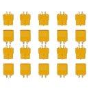 10 Paar XT60 (20 Stück) Stecker/Buchse (male/female)...
