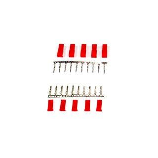 5 Paar JST / BEC Stecker + Buchse zum crimpen (10 Stück)