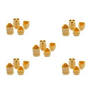 5 Paar MT30 (10 Stück) Stecker/Buchse (male/female) 3 Pin ESC