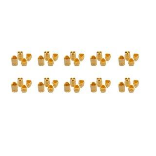 10 Paar MT30 (20 Stück) Stecker/Buchse (male/female) 3 Pin ESC