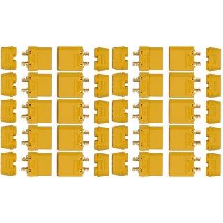 10 Paar XT90 H Stecker/Buchse (male/female) 4,5 mm