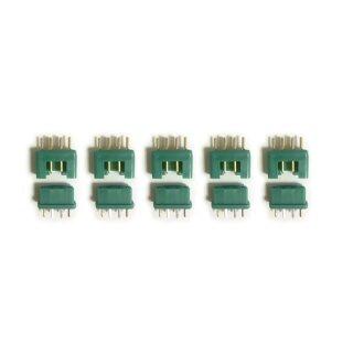 5 Paar (10 Stück) Marfitec MPX Steckverbinder (Stecker/Buchse) kompatibel