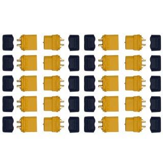 10 Paar XT60 H Stecker/Buchse (male/female) 3,5 mm + caps