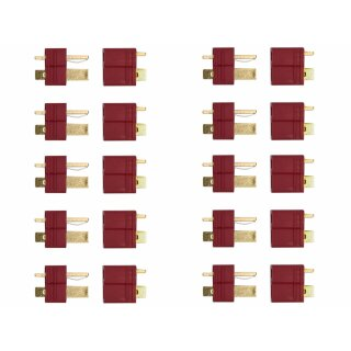 10 Paar Deans Stecker/Buchse T-Verbinder