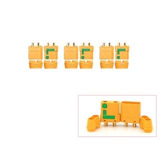 3 Paar XT90-S Anti Spark
