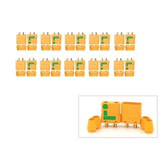 10 Paar XT90-S Anti Spark